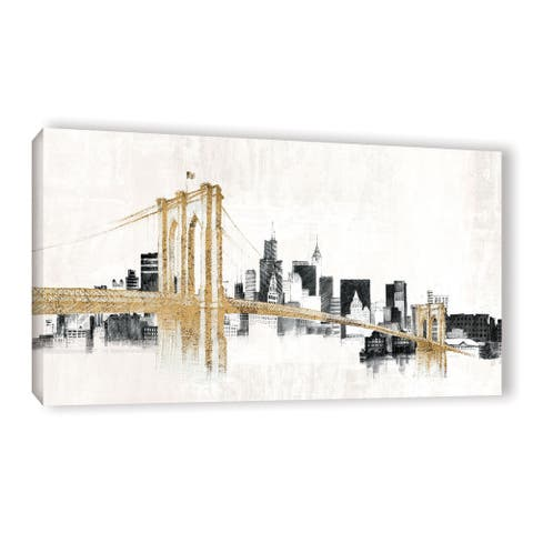 Avery Tillmon's 'Skyline Crossing' Gallery Wrapped Canvas