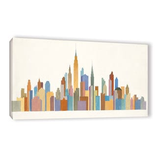 Avery Tillmon's 'Empire Skyline 2' Gallery Wrapped Canvas