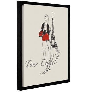 ArtWall Avery Tillmon's French Chic I, Gallery Wrapped Floater-framed Canvas