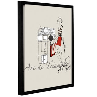 ArtWall Avery Tillmon's French Chic II, Gallery Wrapped Floater-framed Canvas