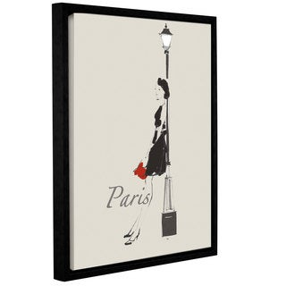 ArtWall Avery Tillmon's French Chic III, Gallery Wrapped Floater-framed Canvas