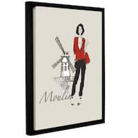 ArtWall Avery Tillmon's French Chic IV, Gallery Wrapped Floater-framed Canvas