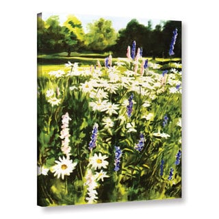 ArtWall Sylvia Shirilla's Daisies And Larkspurs , Gallery Wrapped Canvas