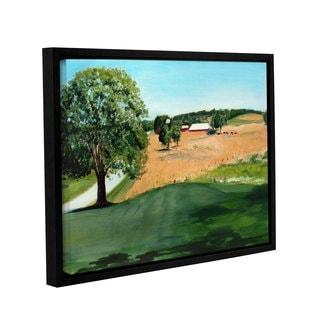 ArtWall Sylvia Shirilla's Western Pennsylvania Farm, Gallery Wrapped Floater-framed Canvas