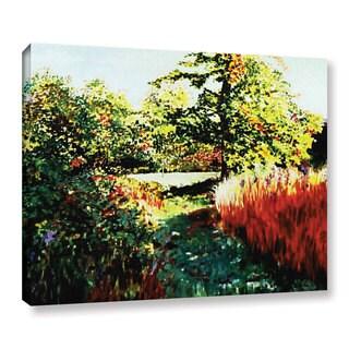 ArtWall Sylvia Shirilla's Impression Path, Gallery Wrapped Canvas