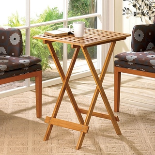 Mimosa Geometric Wooden Tray Table