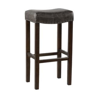 Kosas Home Kai Backless Barstool Chocolate
