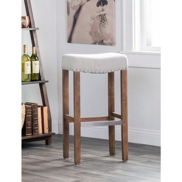 Kai 31 Inch Backless Barstool By Kosas Home Free