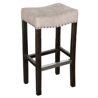 Kosas Home Kai Backless Barstool Beige