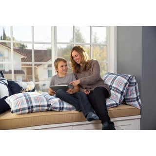 Mi Zone Alton Plaid 26 x 100 Caterpillow