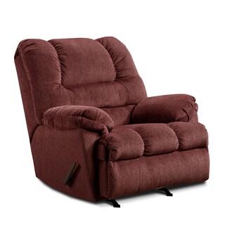 Simmons Upholstery Zig Zag Rocker Recliner