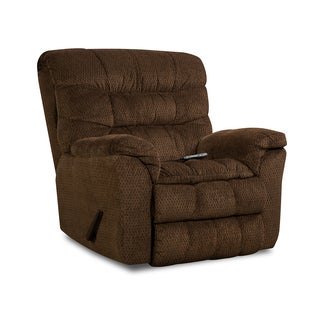 Simmons Upholstery Aegean Heat & Massage Rocker Recliner