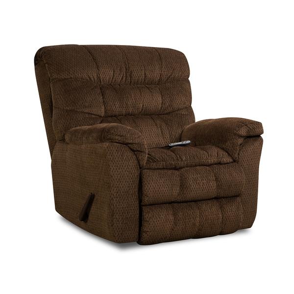 simmons upholstery aegean heat u0026 massage rocker recliner