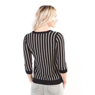 DownEast Basics Women's Husdon Street Sweater