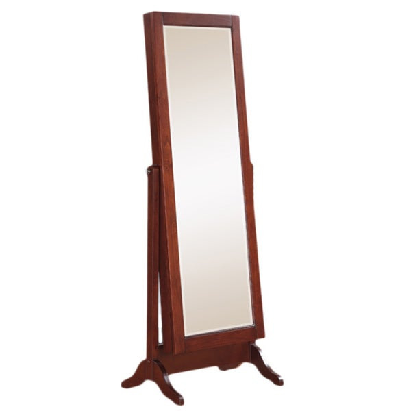 "Powell Concord Cherry Sliding Jewelry Armoire - 21.5""w x 16""d x 60""h"
