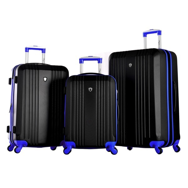 Olympia Apache 3-piece Hardside Spinner Luggage Set. Opens flyout.
