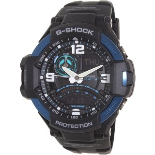 Casio Men's G-Shock GA1000-2B Black Resin Quartz Watch