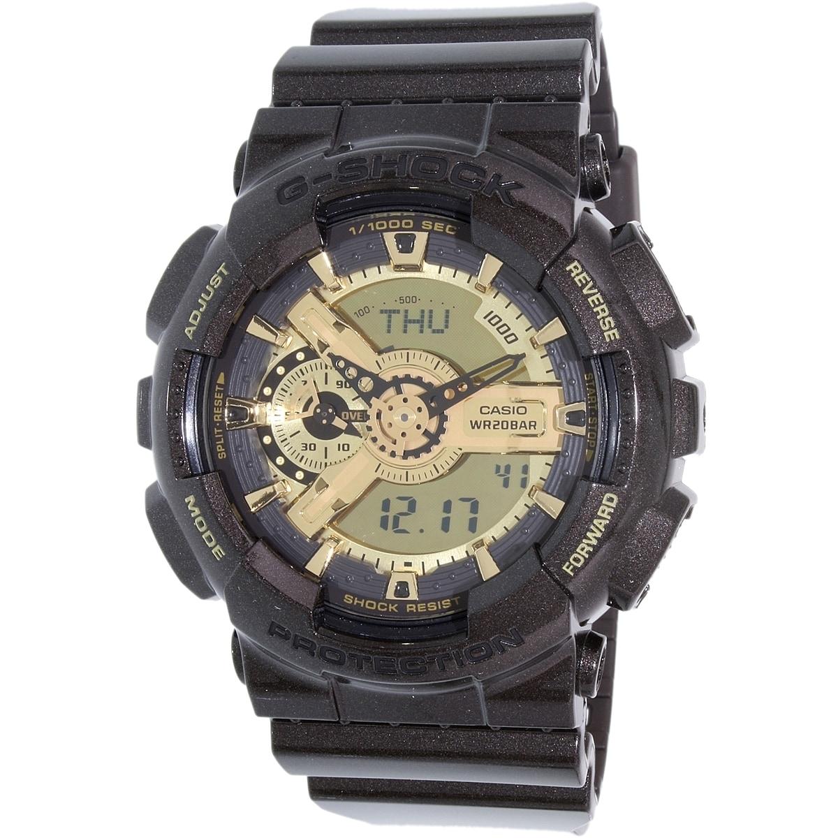 Casio Men's G-Shock GA110BR-5A Black Resin Quartz Watch (...