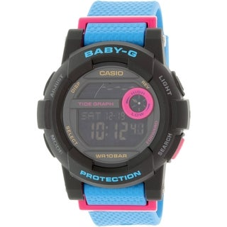 Casio Women's Baby-G BGD180-2 Blue Resin Quartz Watch