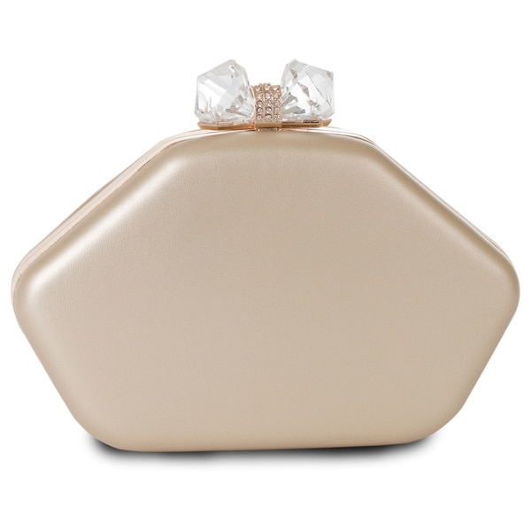 J. Furmani Crystal Bow Clutch
