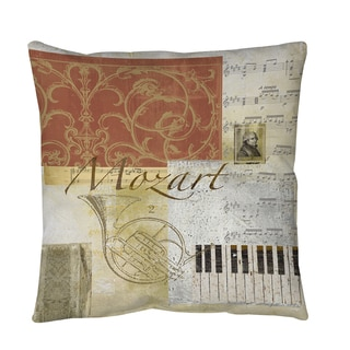 Thumbprintz Classic Composers Mozart Floor Pillow