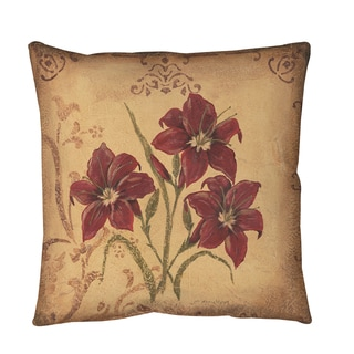 Thumbprintz Crimson III Floor Pillow