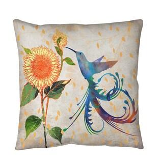 Thumbprintz Daisy Hum Neutral Floor Pillow