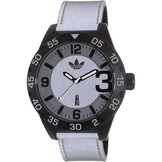 Adidas Men's Newburgh ADH3079 Grey Silicone Quartz Watch
