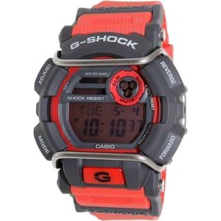Casio Men's G-Shock GD400-4 Grey Resin Quartz Watch|https://ak1.ostkcdn.com/images/products/11098286/P18103700.jpg?impolicy=medium