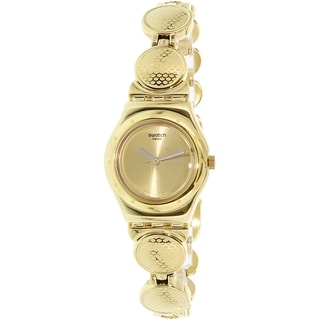 Swatch Women's Irony YSG141G Gold Stainless-Steel Quartz Watch