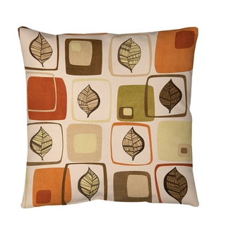 Thumbprintz Deco Leaves Floor Pillow