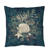 Fish Vignette Floor Pillow