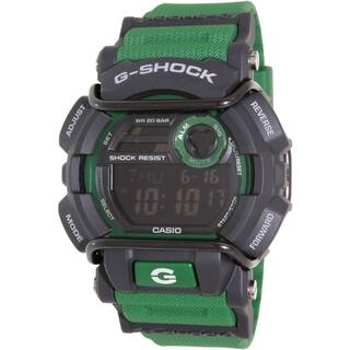 Casio Men's G-Shock GD400-3 Green Resin Quartz Watch|https://ak1.ostkcdn.com/images/products/11098298/P18103695.jpg?impolicy=medium