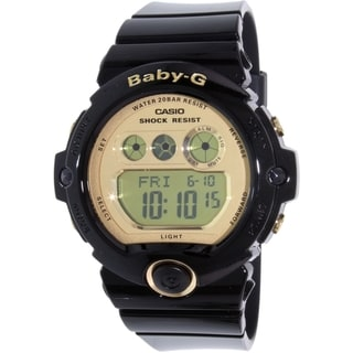 Casio Women's Baby-G BG6901-1 Black Resin Quartz Watch
