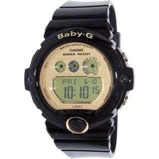 Casio Women's Baby-G BG6901-1 Black Resin Quartz Watch