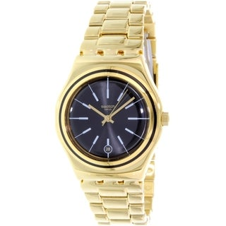 Swatch Women's Irony YLG405G Gold Stainless-Steel Quartz Watch