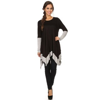 MOA Collection Women's Color Block Top