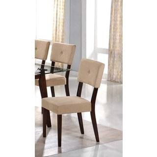 LYKE Home Westcott Mocha Dining Chair (Pack of 2)