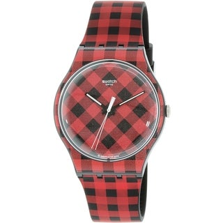 Swatch Women's Originals SUOB124 Multi Rubber Quartz Watch