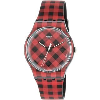 Swatch Women's Originals SUOB124 Multi Rubber Quartz Watch