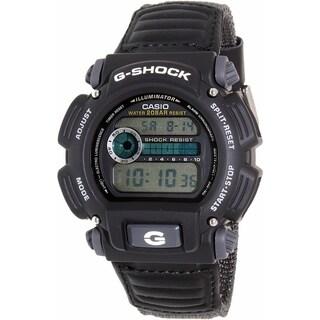 Casio Men's G-Shock DW9052V-1 Black Cloth Quartz Watch