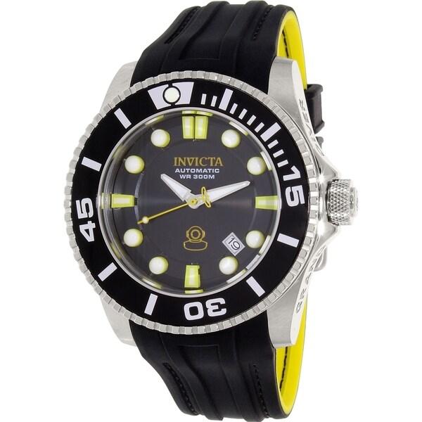 Invicta Men's Pro Diver Black Rubber Automatic Watch. Opens flyout.