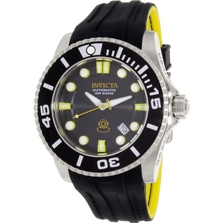 Invicta Men's Pro Diver 20199 Black Rubber Automatic Watch