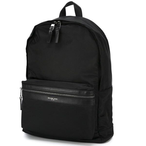 26ccf6a80c9e Shop Michael Kors Kent Black Nylon Backpack - Free Shipping Today ...