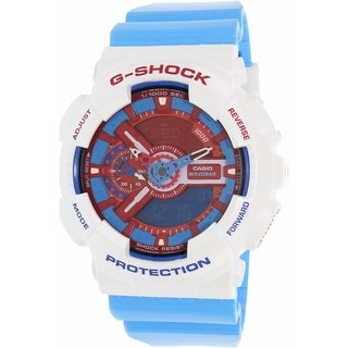 Casio Men's G-Shock GA110AC-7A Blue Resin Quartz Watch