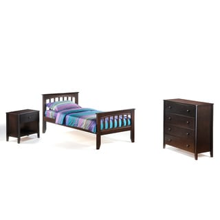 Night And Day Furniture Twin-size Sasparilla Junior Suite