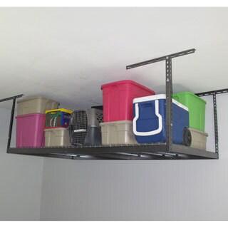 MonsterRax Stainless Steel Wire Overhead Garage Storage Rack (4' x 8')