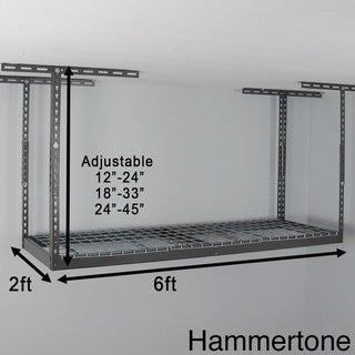 MonsterRax 2' x 6' Overhead Garage Storage Rack