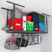 MonsterRax 2' x 6' Overhead Garage Storage Rack
