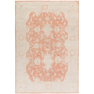 Hand Knotted WestHam Wool Area Rug - 9' x 13'